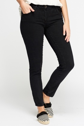 Slim Fit Regular Waist Jeans