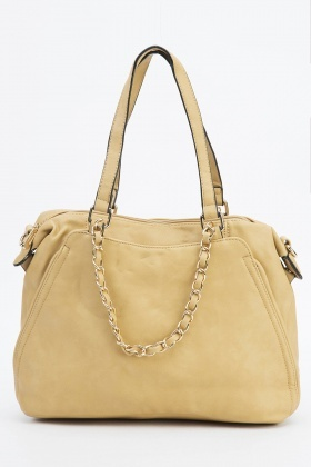 Chain Embellished Handbag