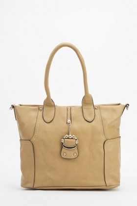 Metallic Front Detail Handbag
