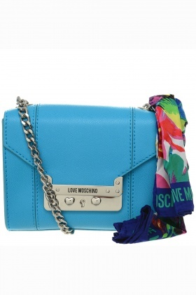 Love Moschino Scarf Detail Shoulder Bag