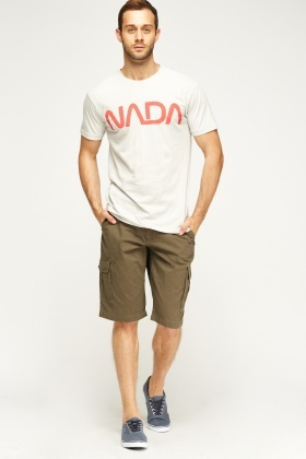 Multi Pocket Casual Shorts