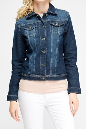 Washed Blue Denim Jacket