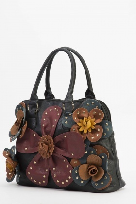 3D Flower Tote Bag