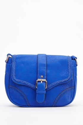 Faux Leather Shoulder Mini Bag