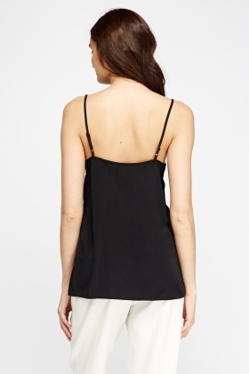 Black Cami Top
