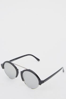 Club Master Round Sunglasses