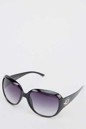 Mirrored Butterfly Sunglasses