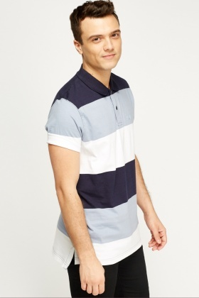 Multi Stripe Polo Top