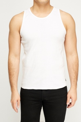 Pack Of 2 Basic Vest Tops