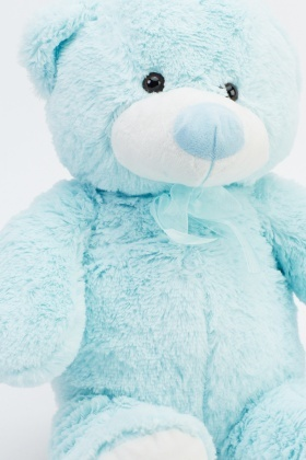 Aqua Stuffed Teddy Bear