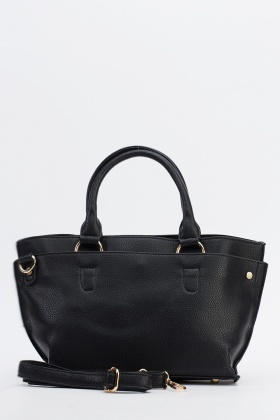 Small Faux Leather Handbag