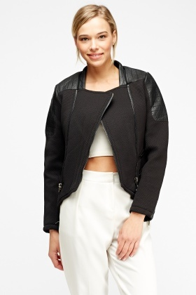 Quilted Textured Jacket