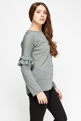 Flare Long Sleeve Top