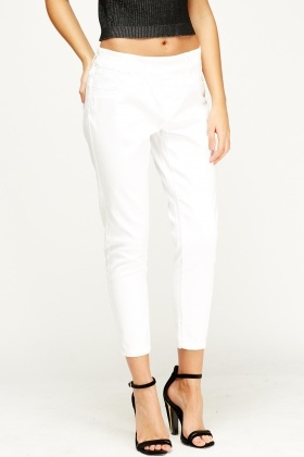 Off White Tailored Trousers