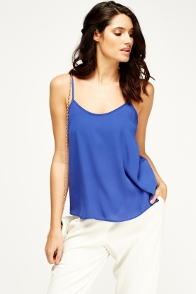 Royal Blue Cami Top