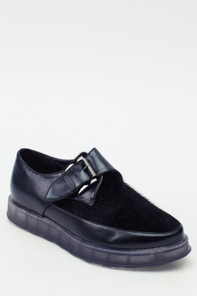 Contrast Buckle Shoe