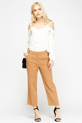 Ginger Cigarette Trousers