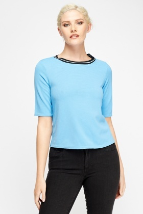 Blue Textured Box Top