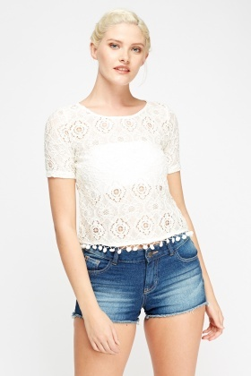 Crochet Box Top