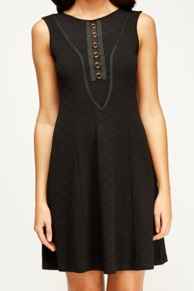 Textured Shift Dress