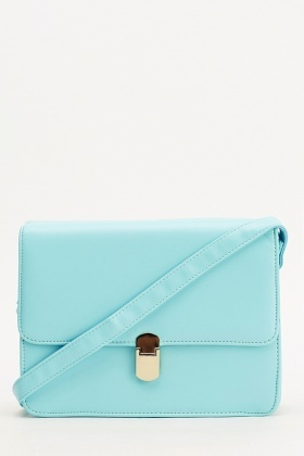 Blue Box Shoulder Bag