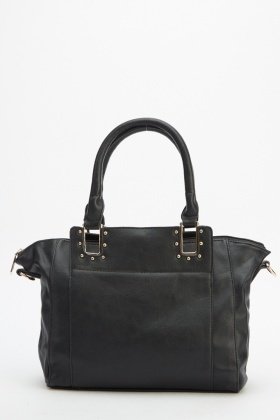 Winged Faux Leather Bag