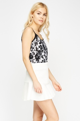 Mono Printed Cami Top