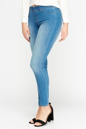 Denim Slim Leg Jeggings