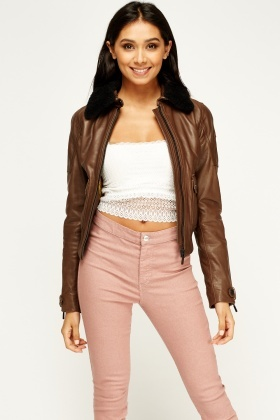 Barney & Taylor Charcoal Leather Jacket