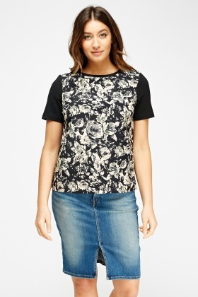 Floral Front Box Top
