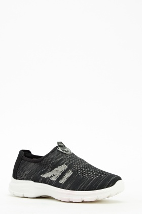 Light Weight Slip On Trainers