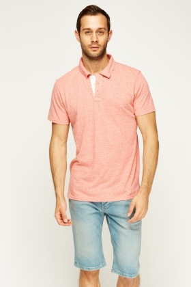 Speckled Polo T-Shirt