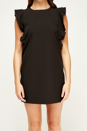 F & P Flare Sleeve Mini Dress