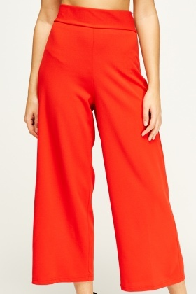 Flam Mode Red Culottes