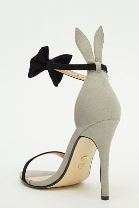 Ideal Bunny Ear Bow High Heels