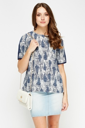 Tree Printed T-Shirt