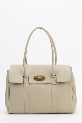 Bagitali Real Leather Tote Bag