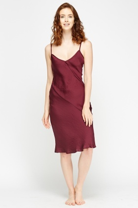 Flare Hem Slip On Night Dress