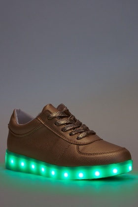 Light Up Sole Trainers - Just $6