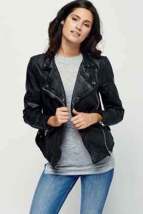 Muubaa Monteria Biker Leather Jacket