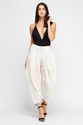 Crochet Harem Trousers
