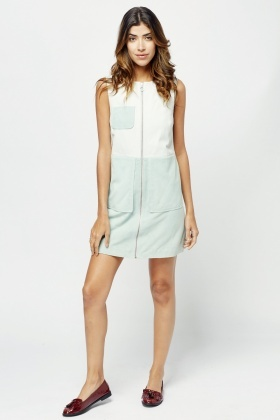 Muubaa Contrast Zipped Dress