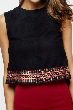 Muubaa Sewell Embroidered Tank Top