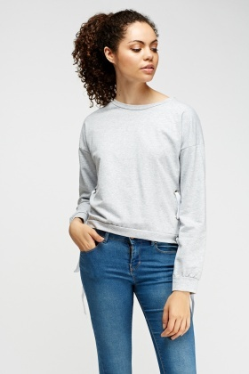 Cropped Detailed Sweater