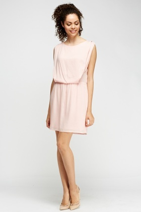 Ruched Casual Dress