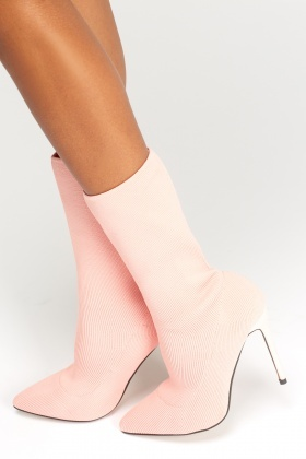 Sergio Todzi High Heel Stretch Sock Boots