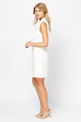 594fd99881 Wrap Sleeveless Blazer Dress - Just £5