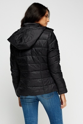 Quilted Padded Casual Jacket