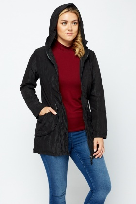 Zipped Front Hoodie Jacket