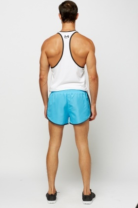 Blue Performance Shorts